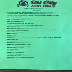 Tri City Auto Repair | Services Image